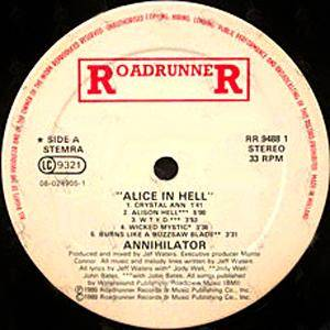 Annihilator: Alice In Hell (LP) - Bild 5