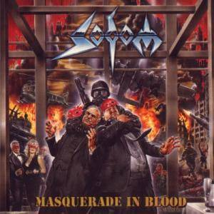 Sodom: Masquerade In Blood - Cover
