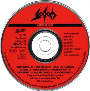 Sodom: Agent Orange (CD) - Bild 3