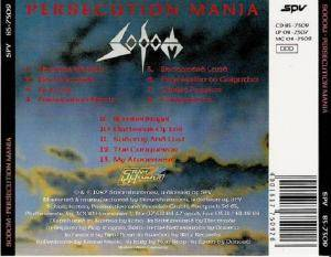 Sodom: Persecution Mania (CD) - Bild 3