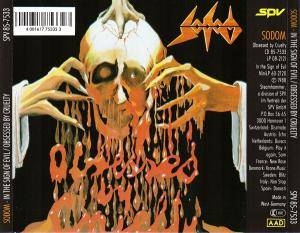 Sodom: In The Sign Of Evil / Obsessed By Cruelty (CD) - Bild 3