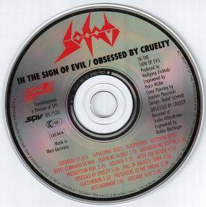 Sodom: In The Sign Of Evil / Obsessed By Cruelty (CD) - Bild 4
