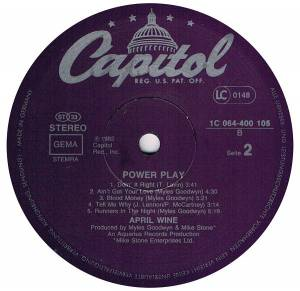 April Wine: Power Play (LP) - Bild 4