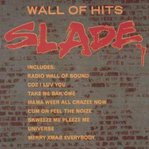Slade: Wall Of Hits - Cover