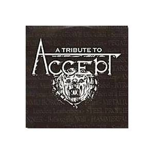 Tribute To Accept, A - Cover