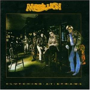 Marillion: Clutching At Straws - Cover