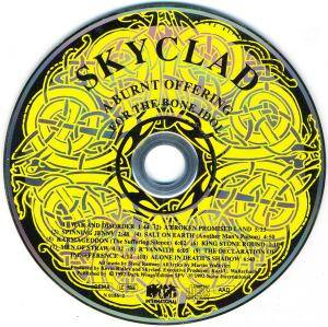 Skyclad: A Burnt Offering For The Bone Idol (CD) - Bild 3