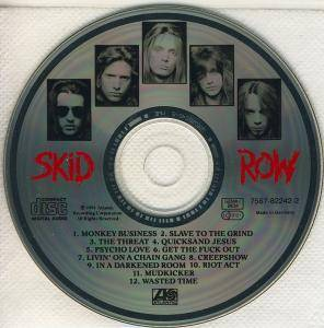 Skid Row: Slave To The Grind (CD) - Bild 4