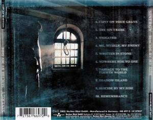 Sinergy: Suicide By My Side (CD) - Bild 2