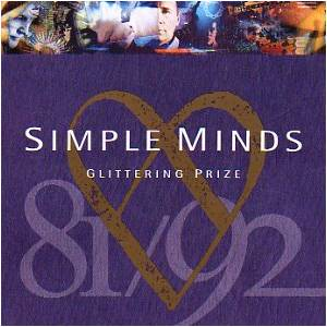 Simple Minds: Glittering Prize 81/92 - Cover