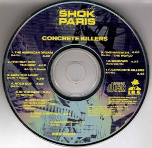 Shok Paris: Concrete Killers (CD) - Bild 3