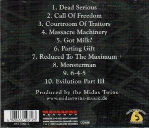 Powergod: Evilution Part III - Nemesis (CD) - Bild 2