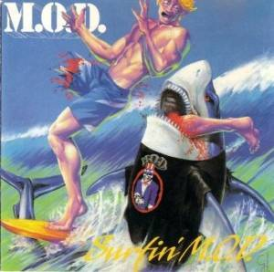 M.O.D.: Surfin' M.O.D. - Cover