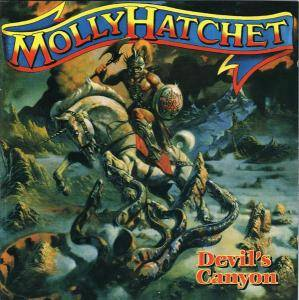 Molly Hatchet: Devil's Canyon - Cover