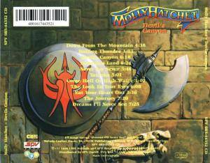 Molly Hatchet: Devil's Canyon (CD) - Bild 3