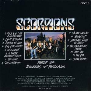 Scorpions: Best Of Rockers N' Ballads (CD) - Bild 2