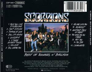 Scorpions: Best Of Rockers N' Ballads (CD) - Bild 3