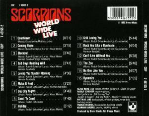 Scorpions: World Wide Live (CD) - Bild 2