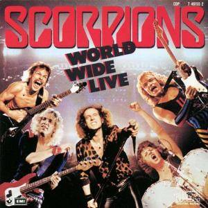 Scorpions: World Wide Live - Cover