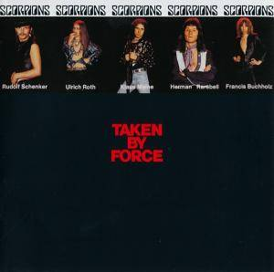 Scorpions: Taken By Force - Cover