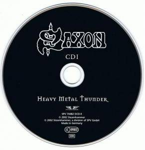 Saxon: Heavy Metal Thunder (2-CD) - Bild 2