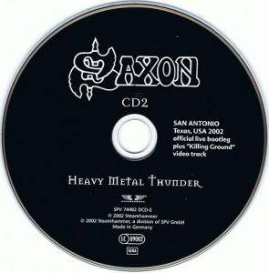 Saxon: Heavy Metal Thunder (2-CD) - Bild 3