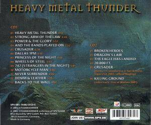 Saxon: Heavy Metal Thunder (2-CD) - Bild 5