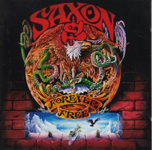 Saxon: Forever Free - Cover