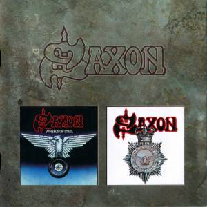 Saxon: Wheels Of Steel / Strong Arm Of The Law (2-CD) - Bild 1