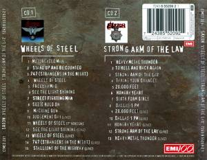Saxon: Wheels Of Steel / Strong Arm Of The Law (2-CD) - Bild 2