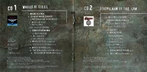 Saxon: Wheels Of Steel / Strong Arm Of The Law (2-CD) - Bild 5