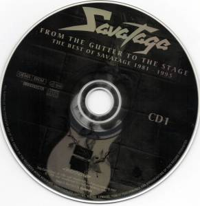 Savatage: From The Gutter To The Stage - The Best Of Savatage 1981-1995 (2-CD) - Bild 3
