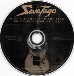 Savatage: From The Gutter To The Stage - The Best Of Savatage 1981-1995 (2-CD) - Bild 4