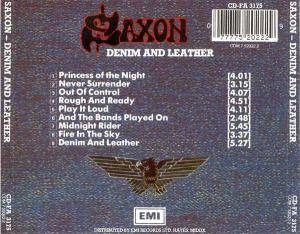 Saxon: Denim And Leather (CD) - Bild 2