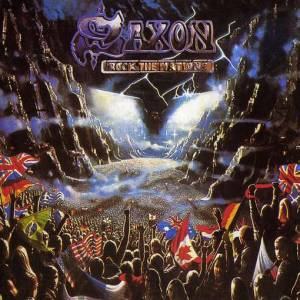 Cover - Saxon: Rock The Nations