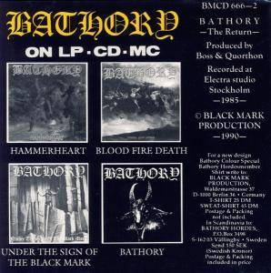 Bathory: The Return...... (CD) - Bild 2
