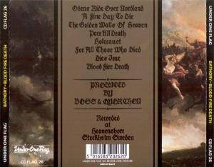Bathory: Blood Fire Death (CD) - Bild 2