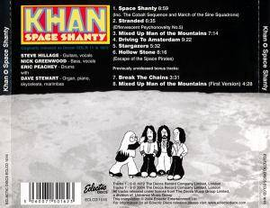 Khan: Space Shanty (CD) - Bild 3