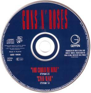 Guns N' Roses: You Could Be Mine (Single-CD) - Bild 3