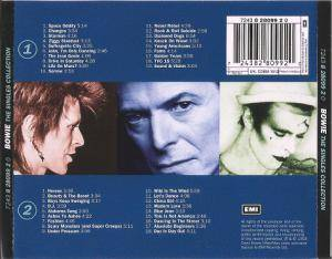 David Bowie: The Singles Collection (2-CD) - Bild 2