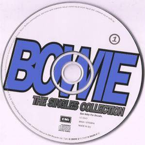 David Bowie: The Singles Collection (2-CD) - Bild 3
