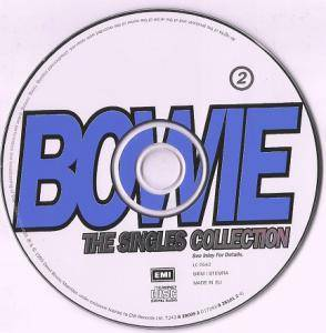 David Bowie: The Singles Collection (2-CD) - Bild 4