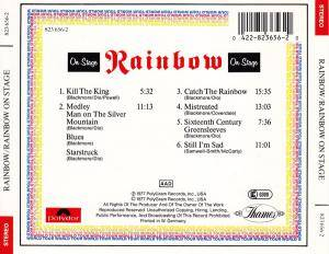 Rainbow: On Stage (CD) - Bild 2