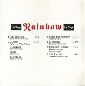 Rainbow: On Stage (CD) - Bild 4