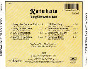 Rainbow: Long Live Rock 'n' Roll (CD) - Bild 2