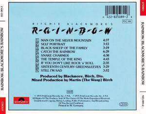 Ritchie Blackmore's Rainbow: Ritchie Blackmore's Rainbow (CD) - Bild 2