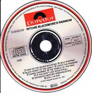 Ritchie Blackmore's Rainbow: Ritchie Blackmore's Rainbow (CD) - Bild 4