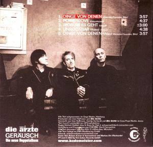 Die Ärzte: Dinge Von Denen (Single-CD) - Bild 2