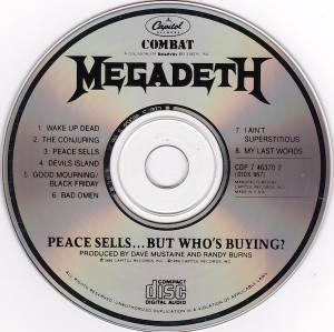 Megadeth: Peace Sells... But Who's Buying? (CD) - Bild 2