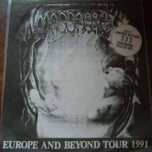 Cover - Massacre: Europe And Beyond Tour 1991